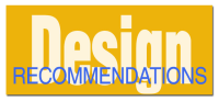 Design Recomendations