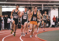 Leverone Field House, Dartmouth College, Indoor Track